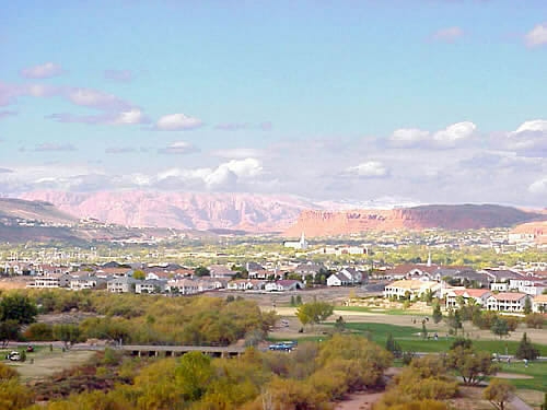 Majestic view of St. George