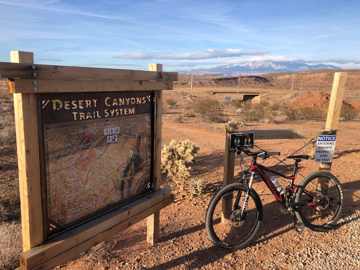 Desert Canyons Trail System